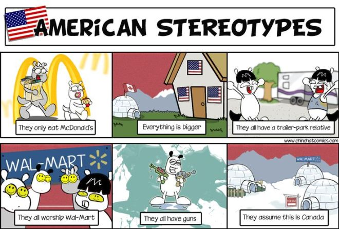 Canadian stereotypes – Not Famous Yet